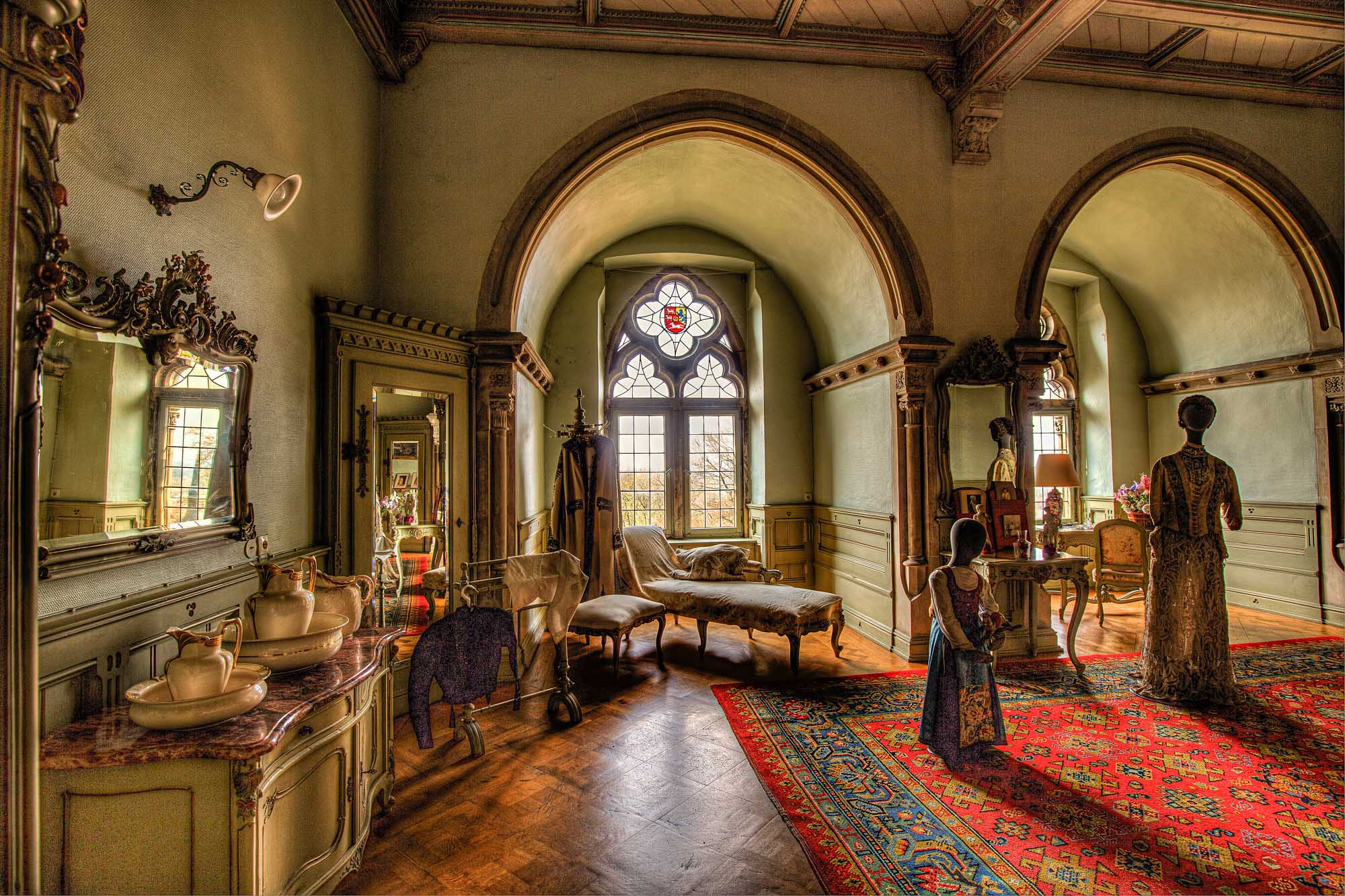 Fürstliches Leben in der Burg Bentheim
