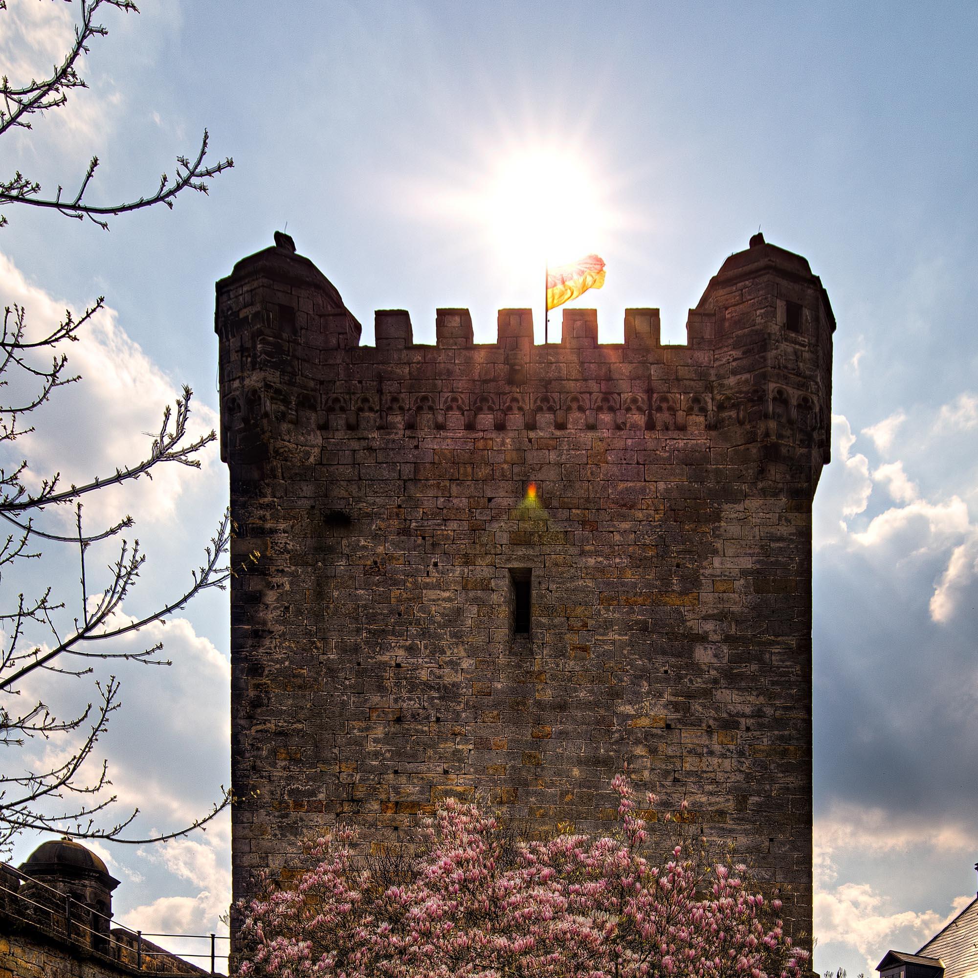 Der Pulverturm der Burg Bentheim