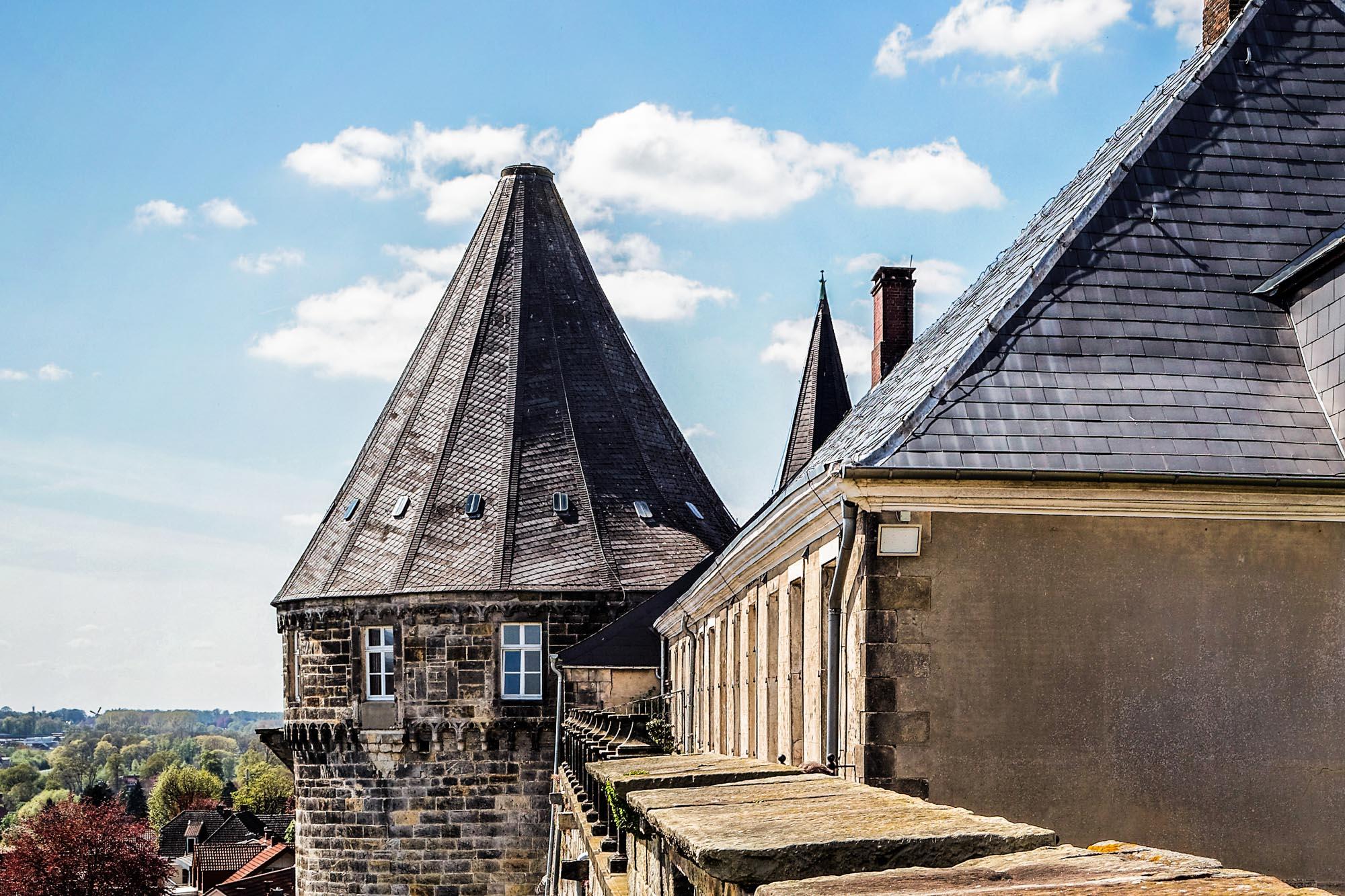 Der Batterieturm der Burg Bentheim © Andreas Richter
