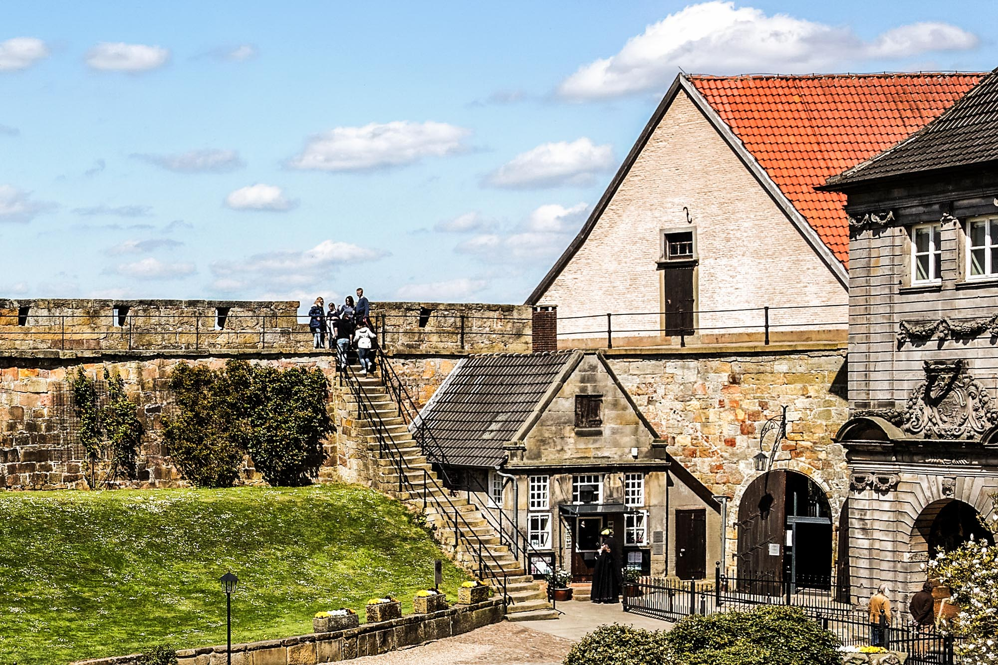 Burgführung auf Burg Bentheim