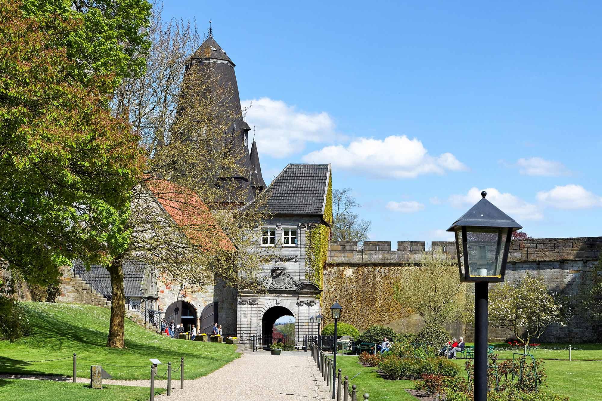 Eingang zur Burg Bentheim ©Andreas Richter