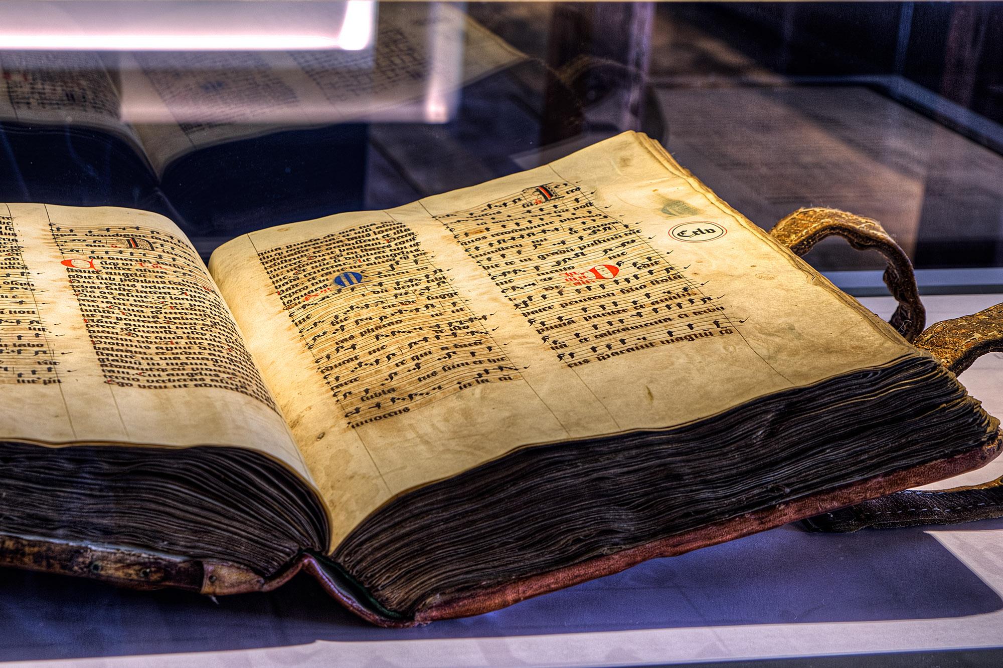 Missale Romanorum · Liederhandschrift aus dem 15. Jahrhundert