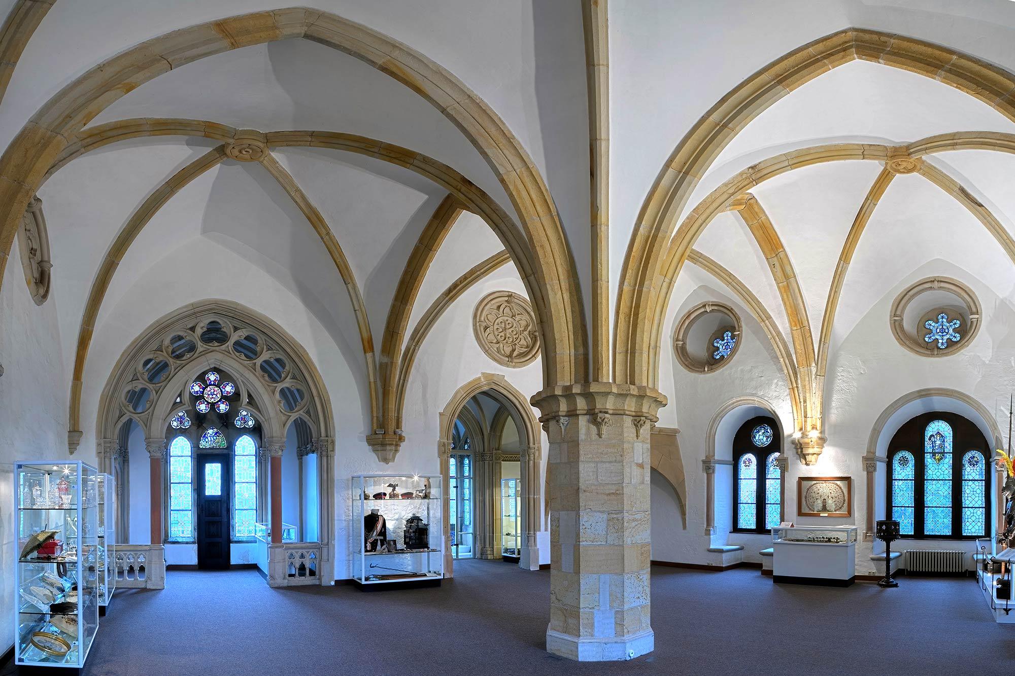 Der Remter in der Burg Bentheim ©burgbentheim.de