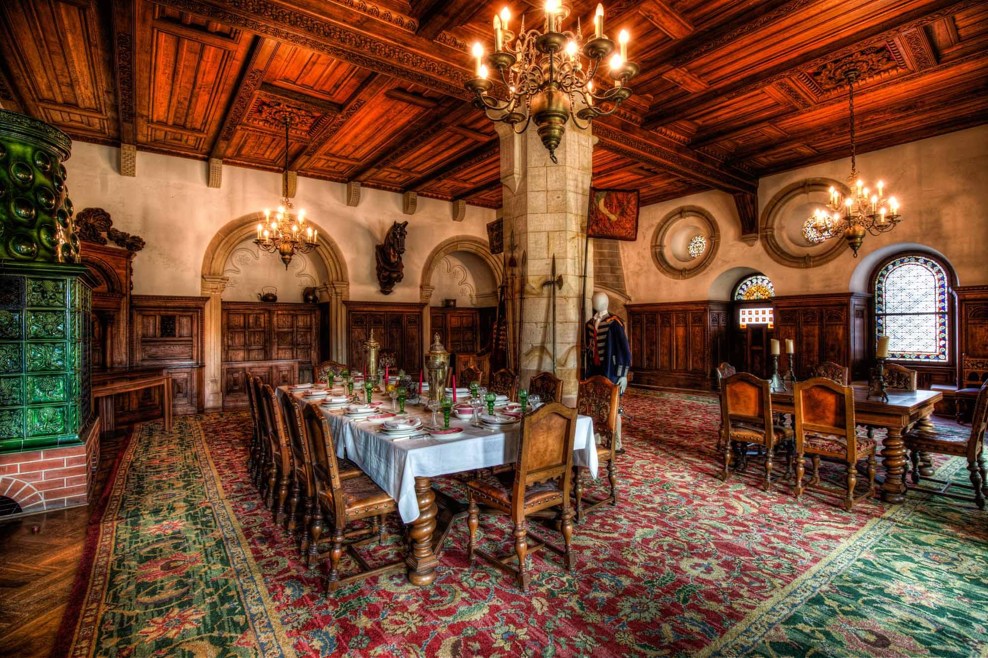 Der Rittersaal in der Kronenburg